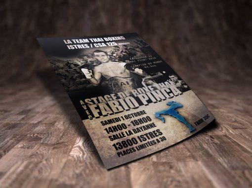 Flyer – Stage Fabio Pinca