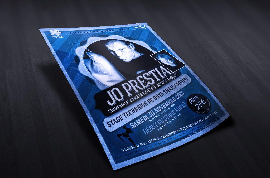 Flyer – Stage Jo Prestia