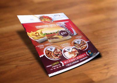 Flyer – Snack de l'Ile