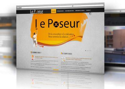 Site Web – Le Poseur