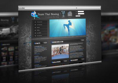 Site Web – Team Thai Boxing