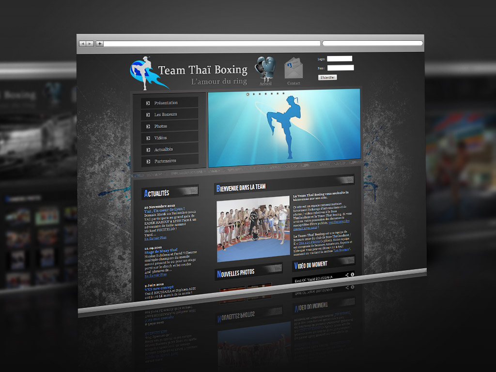 Site Web – Team Thai Boxing