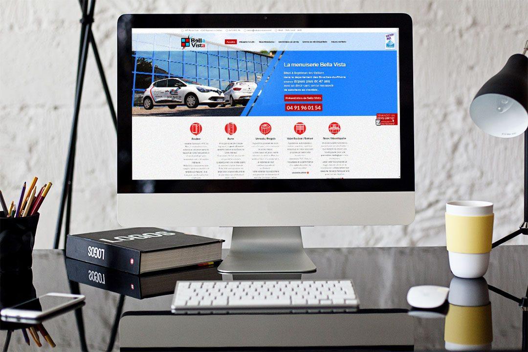Site Web – Bella Vista Menuiseries